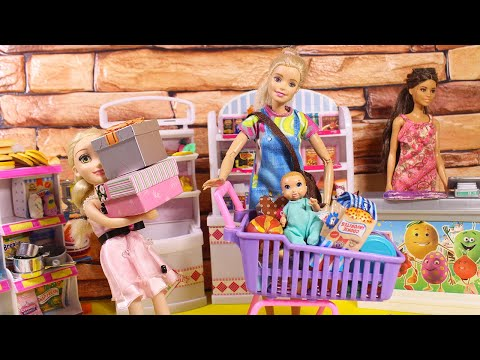 ДЕНЬ РОЖДЕНИЯ - САША ВЫРОС! Куклы Мама Барби