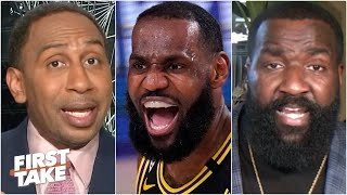 First Take reacts to Lakers vs. Rockets Game 2: Impressed by LeBron/AD or disappointed in Westbrook?