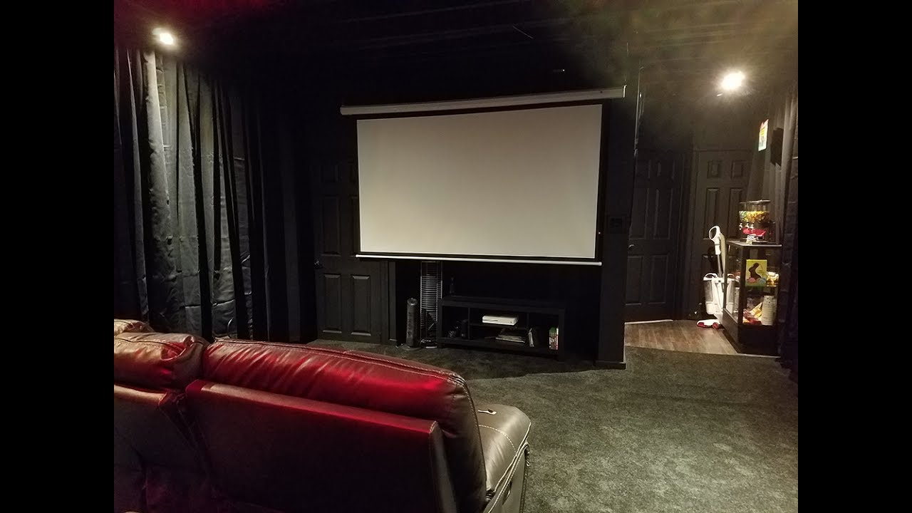 ULTIMATE HOME THEATER ON A BUDGET - YouTube