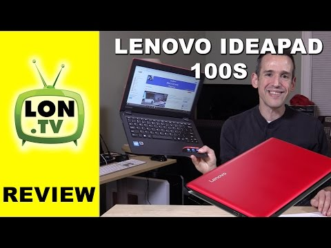 Lenovo IdeaPad 100s Full Review - Lenovo's $200 Windows Laptop - Word, Browsing, Minecraft, and More