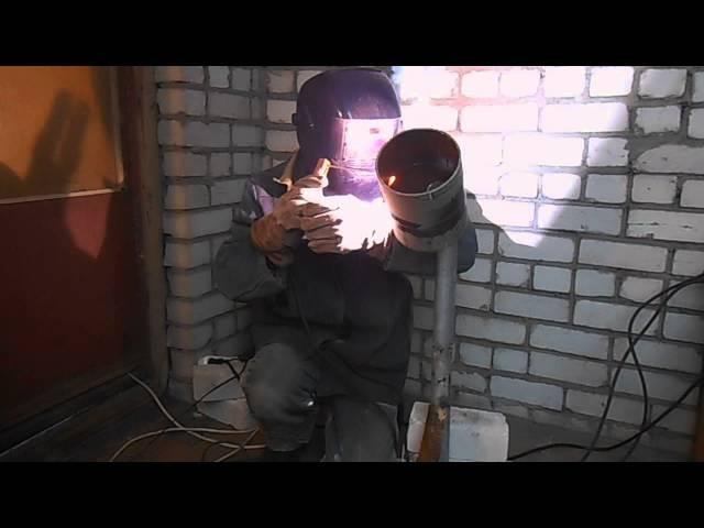 Как варить облицовочный шов под просвет