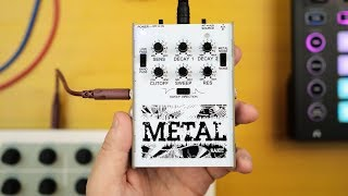 RAKIT METAL SYNTH review - a Portable Noise Percussion Synthesizer