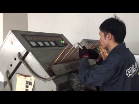 Suntask vacuum tube Solar collector heat pipe liquid filling and exhaust process