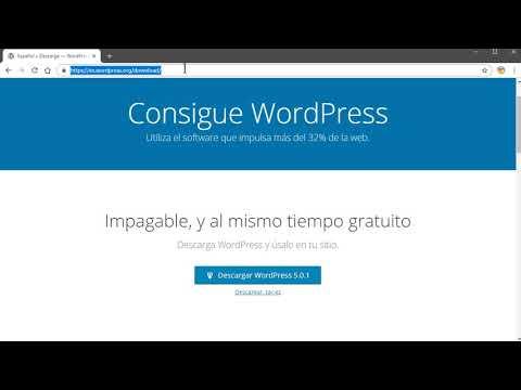 CURSO BÁSICO DE WORDPRESS 2019 - para principiantes thumbnail