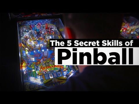 The Top 5 Secret Skills of Pinball (How To Play Pinball)