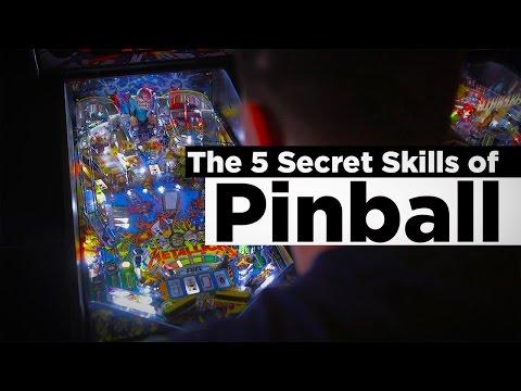 The Top 5 Secret Skills of Pinball (How To Play Pinball)