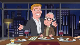 Family Guy: Ronan Farrow and Woody Allen Have Dinner