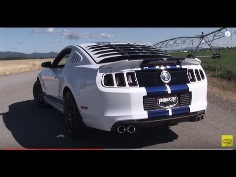 2013 2014 Ford Mustang Shelby Gt500 Performance Exhaust System Kit