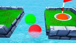 САМАЯ ХИТРАЯ ЛОВУШКА! КАК МЫ ПОПАЛИ В СЛОЖНУЮ ЛУНКУ?! КРУТОЙ ГОЛЬФ С ДРУЗЬЯМИ В ГОЛЬФ ИТ (Golf It)