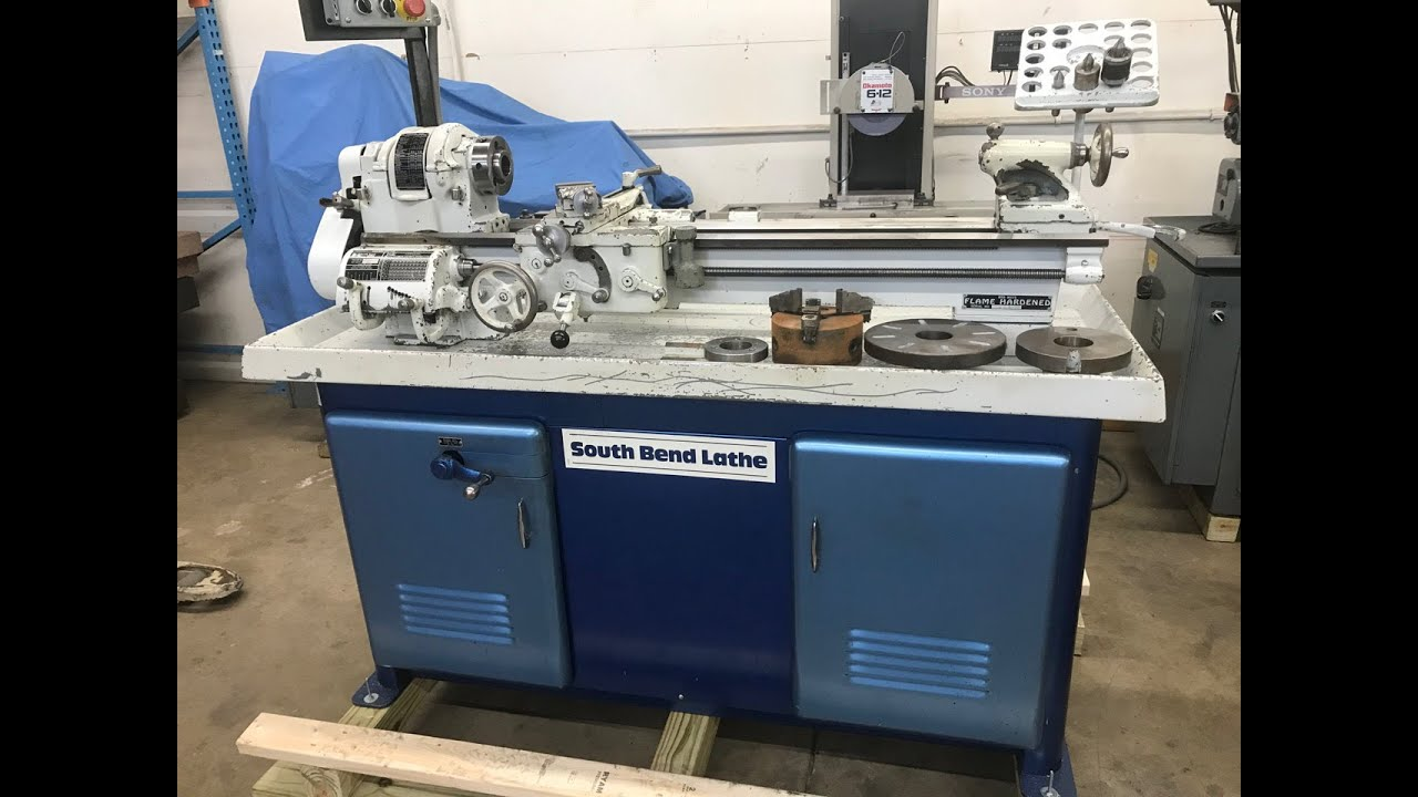 South Bend 10L Heavy Ten Lathe - MKE Machine