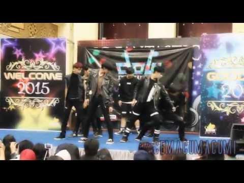 070615 Horus (cover dance EXO) @Bandung Trade Mall, Cicadas
