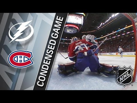 Tampa Bay Lightning vs Montreal Canadiens – Feb. 24, 2018 | Game Highlights | NHL 2017/18. Обзор