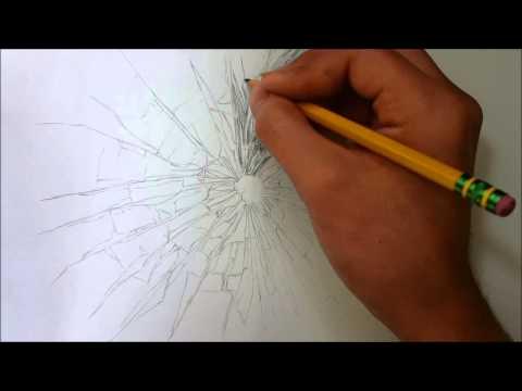 Drawing Broken Glass