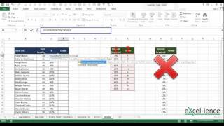 Excel 2016 Lookup Functions Explained - VLookup & HLookup
