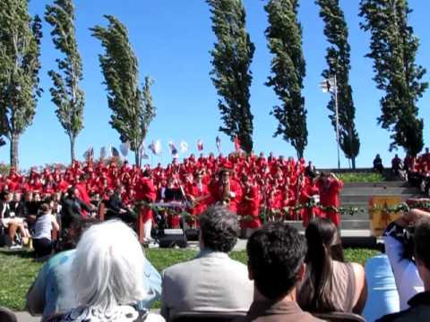 Redwood High School Graduation BORN TO RUN - June 8, 2012