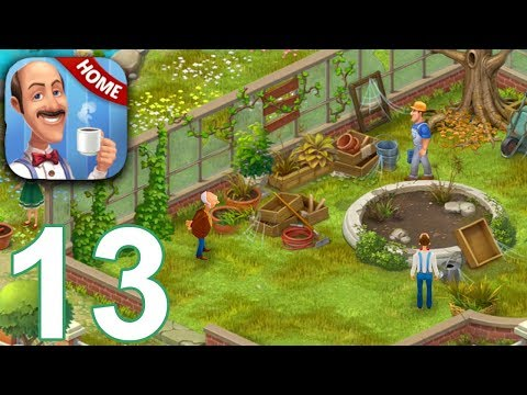 HOMESCAPES Story Walkthrough Gameplay Part 13 - Day 13 (iOS Android)