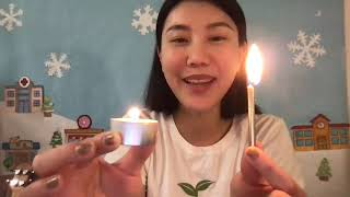 """Bubble in Water & Orange Candle 神奇水中泡泡&小橘燈"" Ya-Ya Science Time by Cloris Laoshi"