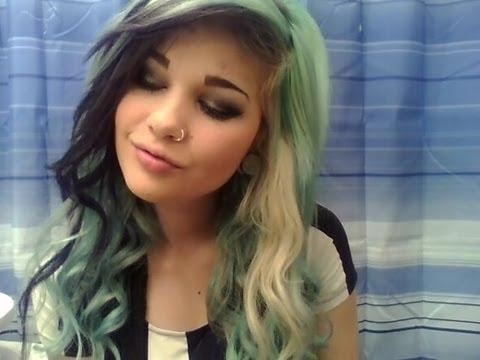 Big Curls And Smokey Eye Youtube