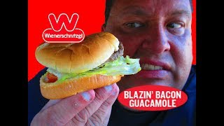 Weinerschnitzel® Blazin' Bacon Guacamole Burger REVIEW!