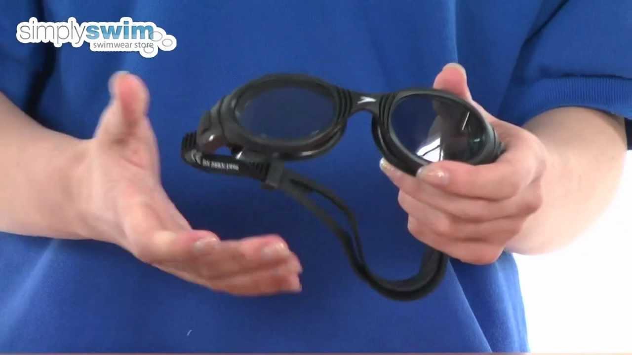 Speedo Futura Biofuse Black Goggle - www.simplyswim.com - YouTube 1bb52dc30cd3