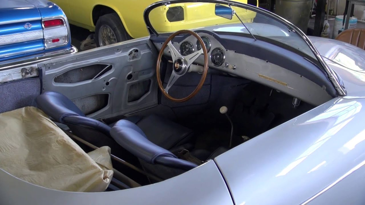 Porsche Speedster New Interior Door Panels And Dashboard Cooks Upholstery Redwood City