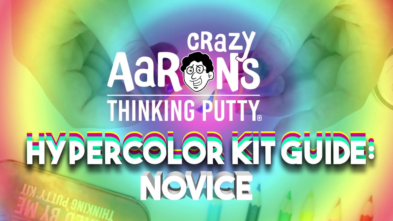 Brand New Online Exclusive Color Eye Candy Heat Sensitive Hypercolor Crazy Aarons Thinking Putty