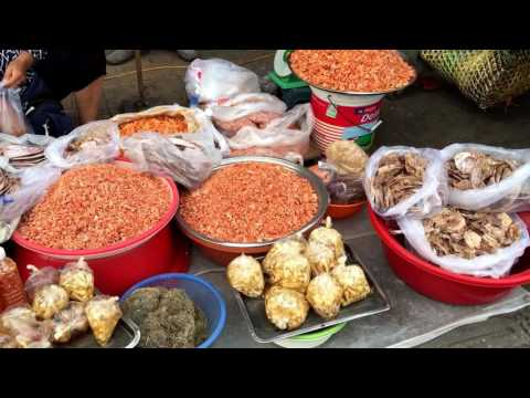 Daily Life: Compilation of Market Activities at Tuol Tum Pong in the Evening