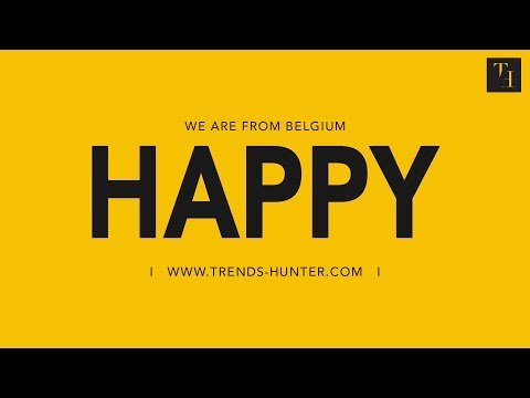 Pharrell Williams - Happy ( WE ARE FROM BELGIUM )