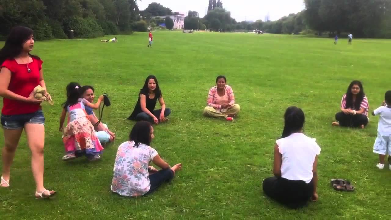 Nepali game RUMAL CHOR - YouTube