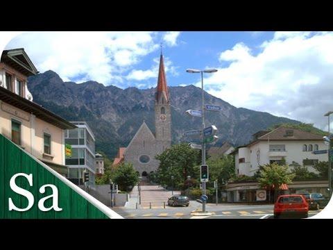 A look around Schaan, Liechtenstein - Largest municipality of Liechtenstein by population