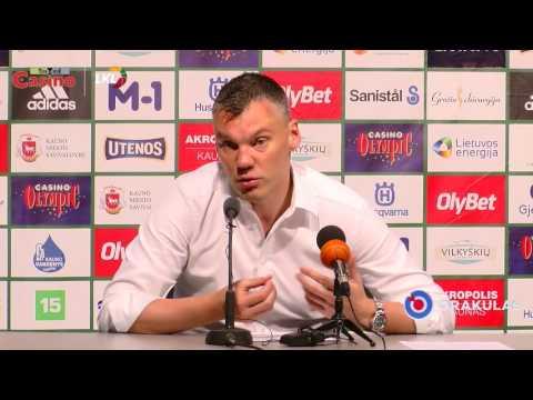 """Š. Jasikevičius: """"Padarėme išvadas ir labiau koncentravomės į gynybą"""""""