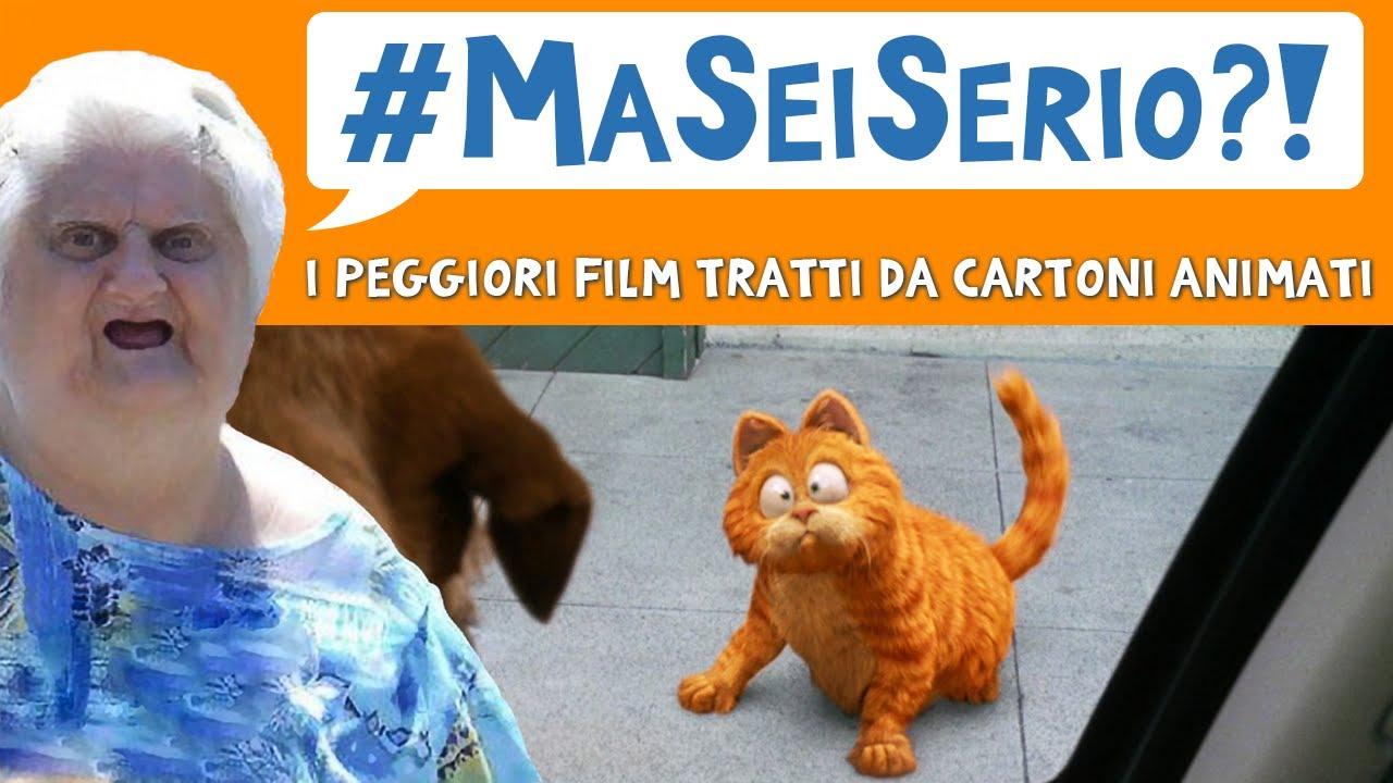 I peggiori film tratti da cartoni animati #maseiserio naked panda