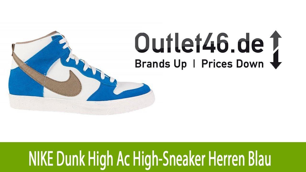 71f9e29c474ff5 Moderner NIKE Dunk High Ac High-Sneaker Schuh Herren Blau l Outlet46 ...