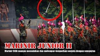 Download lagu HEBAT EUY !!! MARINIR JUNIOR GENERASI II, Atraksikan Kolone Senapan - Atraksi #18