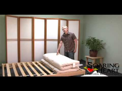 Flipping Your Shikibuton Soaring Heart Natural Bed Company