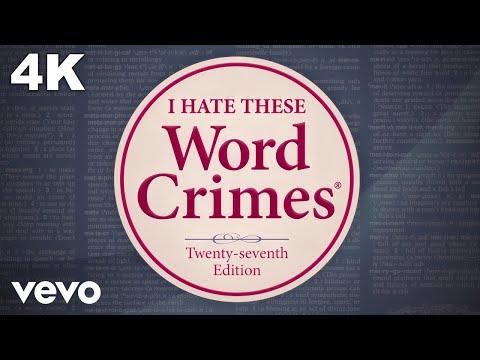 """Weird Al"" Yankovic - Word Crimes"