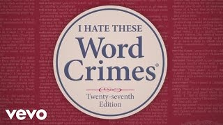 weird al yankovic word crimes