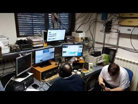 RK Burja S55W live : CQ WPX RTTY M/S 2017 (setting up the live stream)