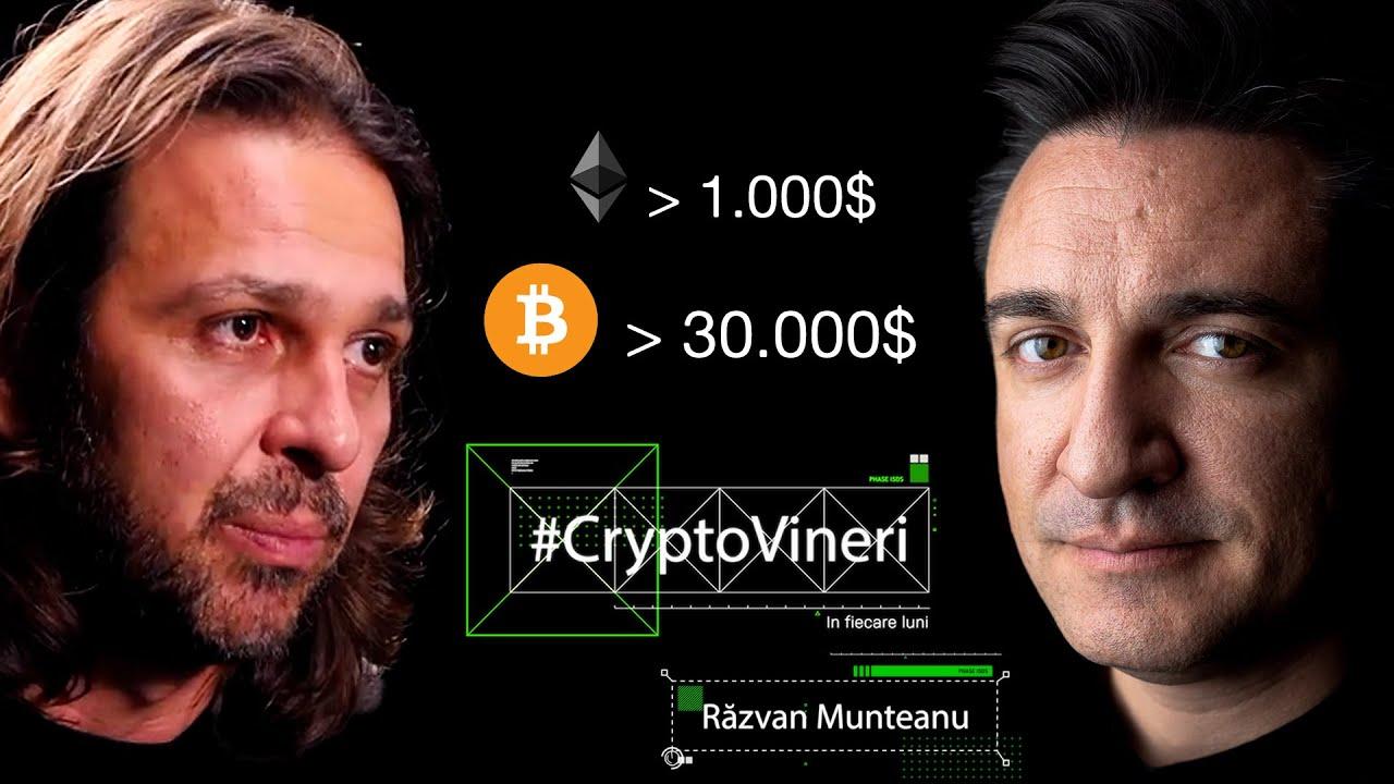 Cât mai crește Bitcoin? cu Răzvan Munteanu - CryptoVineri (în fiecare luni)