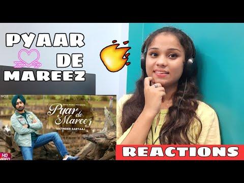 Girl's Reactions On Pyar De Mareez By Satinder Sartaj   Seven Rivers  