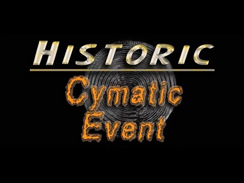 Historic, Flat Earth, Cymatic Event Captured On Video! #FOFE thumbnail