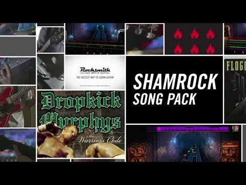 Rocksmith 2014 Edition - Shamrock Song Pack DLC Trailer | Official Music Game (2015)