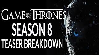 GAME OF THRONES Season 8 Teaser Breakdown! Dragonstone!