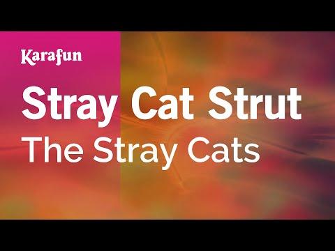 Karaoke Stray Cat Strut - The Stray Cats *