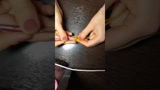 (1 часть) Мешочек для украшения пасхальных яиц своими руками из пряжи
