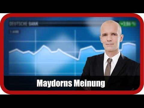 Maydorns Meinung: Nordex, Deutsche Bank, Adidas, Lufthansa,