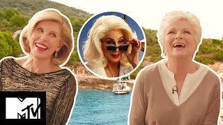 Mamma Mia! Here We Go Again Cast Reveal Sexy Onset Fail! | MTV Movies