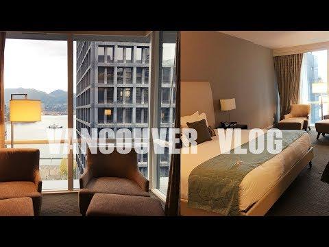 캐나다 브이로그 | 밴쿠버 호텔 룸투어 🏩 COAST COAL HARBOUR HOTEL REVIEW | CANADA VLOG