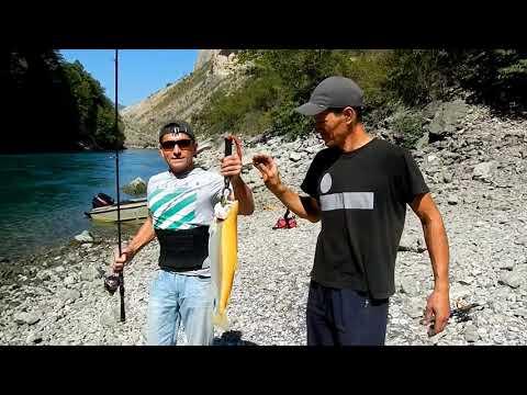 Рыбалка | Ловля форели на Сулакском каньоне