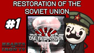 HOI4 NEW MOD! Let's look at: HoI4 mod The New Order: Last Days of Europe! #1